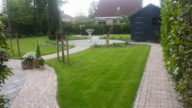 Tuin aanleggen Hoogezand