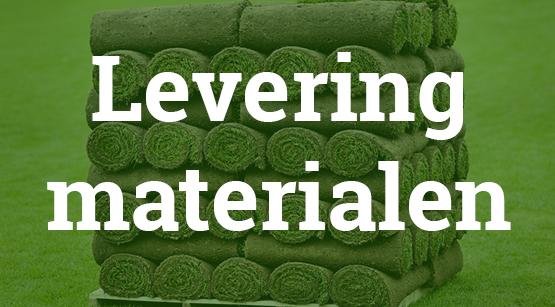 Levering tuin materialen Hoogezand